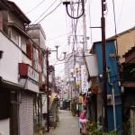 新宿と柳原を散歩しました
