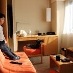 3歳の息子によると、家族旅行は「ホテルが楽しかった」らしい